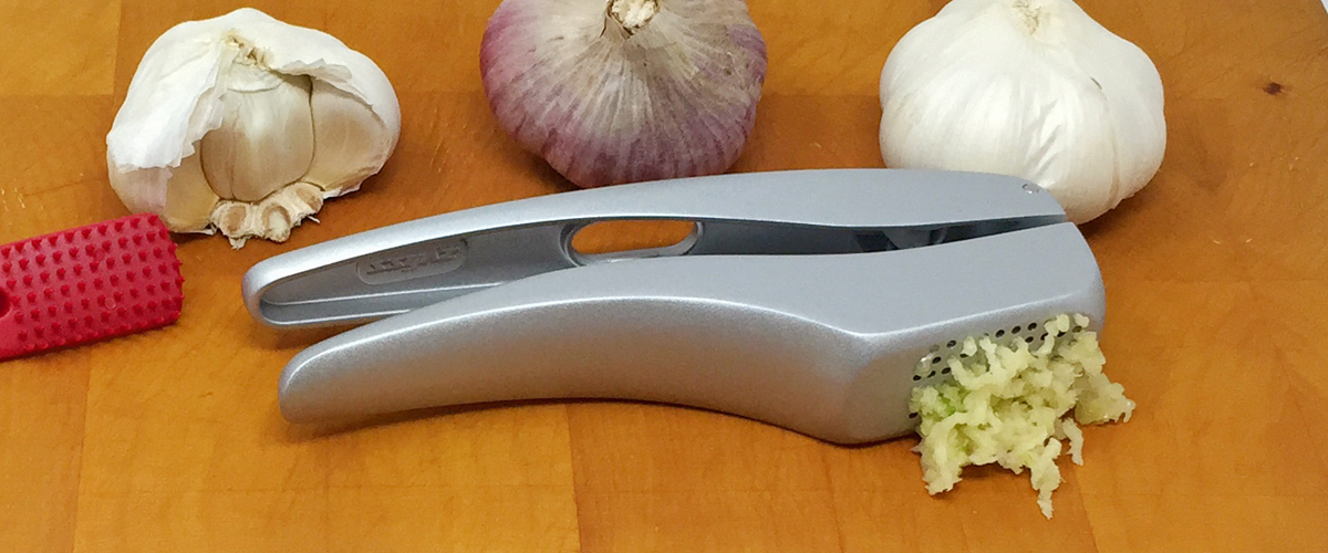 The Best Garlic Press For Our Kitchen