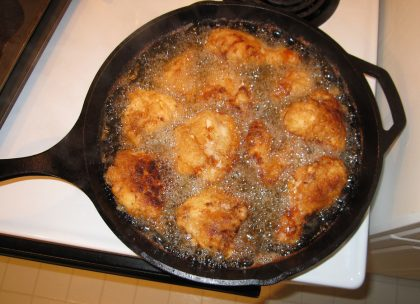 Cast Iron Fried Chicken